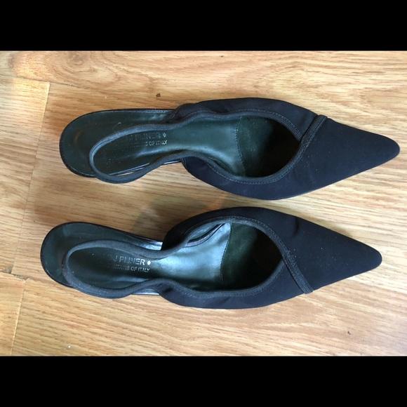 Donald J. Pliner Shoes - Donald J. Pliner stretch fabric pumps